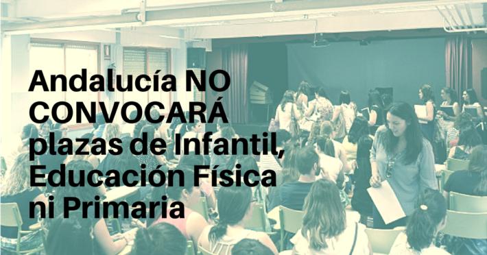 andalucia-no-convocara-plazas-infantil-primaria
