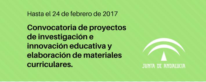 Abierta convocatoria de proyectos de investigación educativa en Andalucía