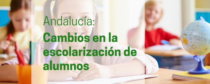 Cambios en la escolarización del alumnado en centros públicos y concertados de Andalucía