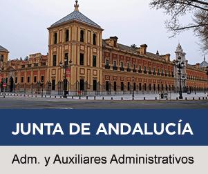 Oposiciones de Administrativos y Auxiliares Administrativos de la Junta de Andalucía en Claustro