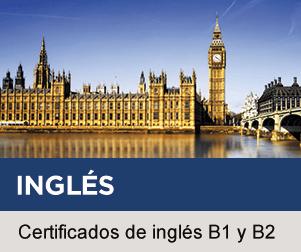 Certificados de inglés B1 y B2 en Claustro