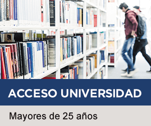 Acceso a la Universidad para mayores de 25 años - Claustro