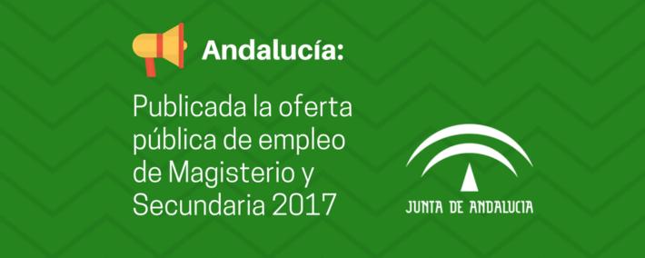 oferta-publica-empleo-docente-2017-andalucia