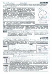 Reproducción celular - Biología - EBAU - Claustro