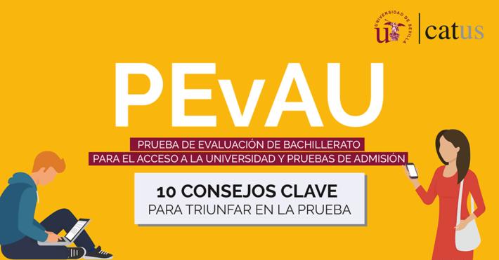 PEVAU (Selectividad): 10 consejos clave para triunfar en la Prueba