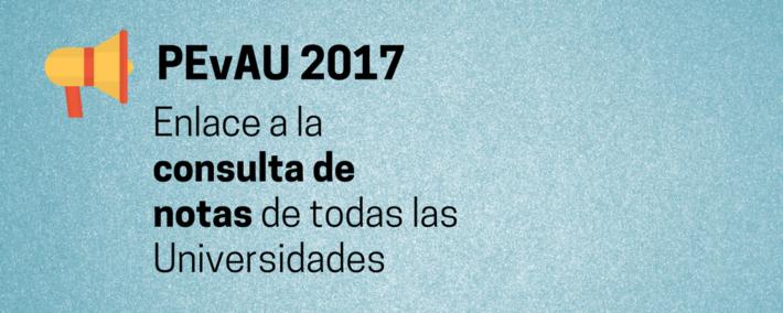 PEvAU 2017: Consulta las notas de todas las universidades - Academia Claustro