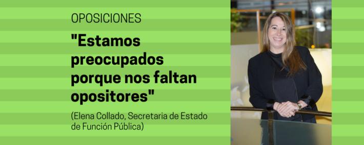 La secretaria de Estado de Función Pública aspira a que la subida salarial a los funcionarios en 2018 sea superior al 1% - Secretaria de Estado de Función Pública - Academia Claustro