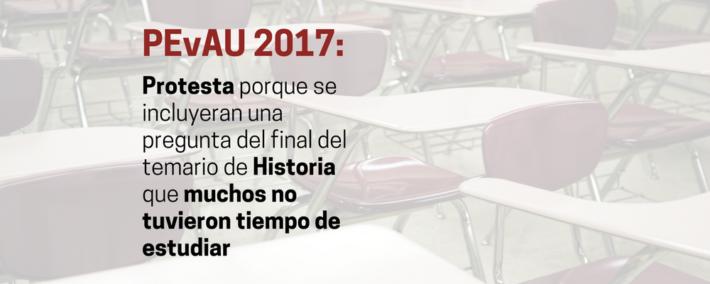 """Selectividad 2017: más de 10.000 firmas en change.org por una pregunta de Historia """"que no entraba en el examen"""""""