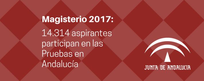 Normalidad en el desarrollo de las oposiciones a Maestros en Andalucía