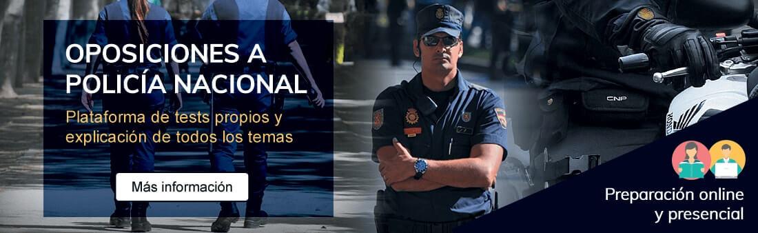 Cursos de oposiciones a Policía Nacional. Presencial y online - Academia Claustro