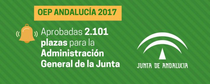 Andalucía aprueba una oferta de empleo público de 2.101 plazas para la Administración General de la Junta - Academia Claustro