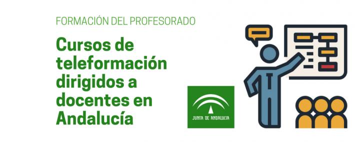 Cursos de teleformación dirigidos a docentes (Aula Virtual de la Junta de Andalucía) - Academia CLAUSTRO