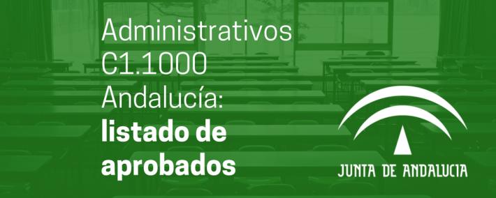 Administrativos C1.1000 Andalucía: listado de aprobados - Academia CLAUSTRO