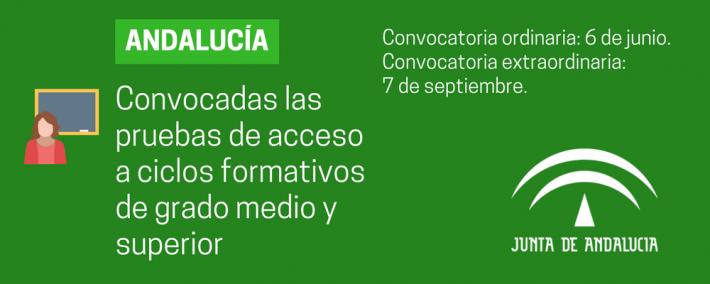Toda la información sobre las pruebas de acceso a los ciclos formativos de grado medio y superior en Andalucía 2018 - Academia CLAUSTRO