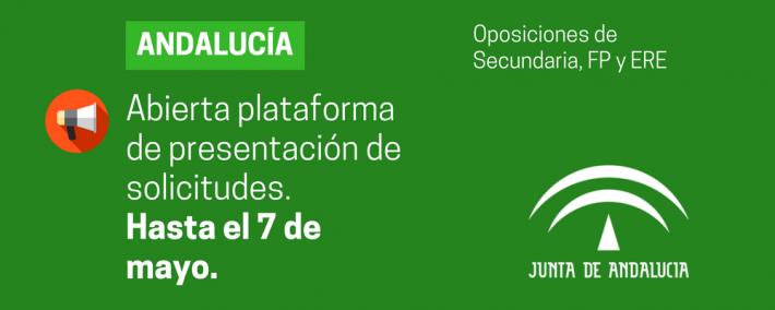 Abierta la plataforma para la presentación de solicitudes a la convocatoria de Secundaria, FP, EOI y Artes Plásticas y Diseño (Andalucía) - Academia CLAUSTRO
