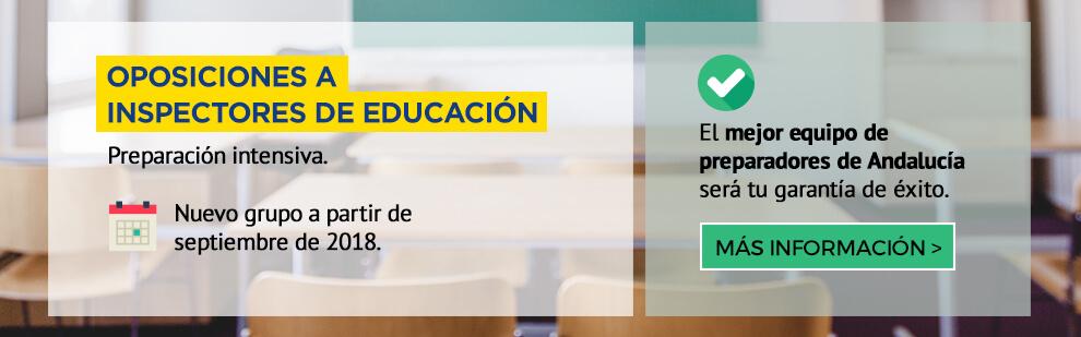 Oposiciones al cuerpo de Inspectores de Educación - Preparación intensiva - Academia CLAUSTRO