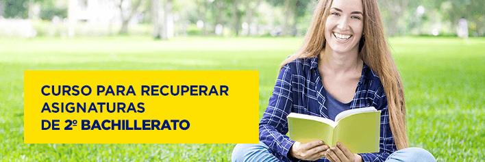 Curso de verano para recuperar asignaturas de 2º de Bachillerato - Academia CLAUSTRO