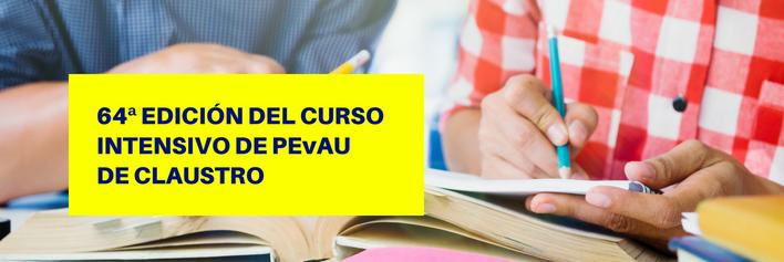 Curso intensivo PEvAU (Selectividad) de septiembre 2018 - Academia CLAUSTRO