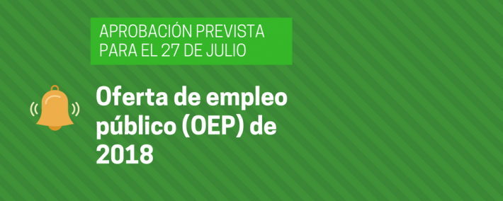 El Gobierno tiene la intención de aprobar la oferta de empleo público de 2018 a finales del mes de julio - Academia CLAUSTRO