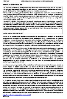 Ejercicio práctico resuelto del examen de oposición de 2016 (especialidad Geografía e Historia)
