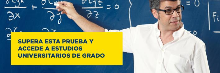 Acceso a la Universidad para mayores de 45 años - Claustro. Sevilla.