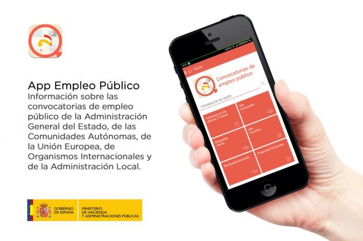 El empleo público en tu móvil