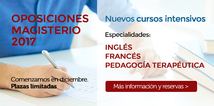 Nuevos cursos intensivos de Inglés, Francés y Pedagogía Terapéutica