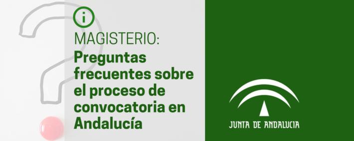 Preguntas frecuentes (FAQ) sobre el procedimiento selectivo para el cuerpo de maestros en Andalucía
