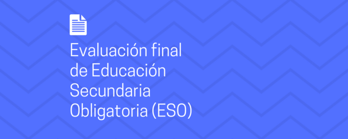 Orden del Ministerio de Educación por la que se regulan las pruebas de la evaluación final de la ESO para el curso 2017