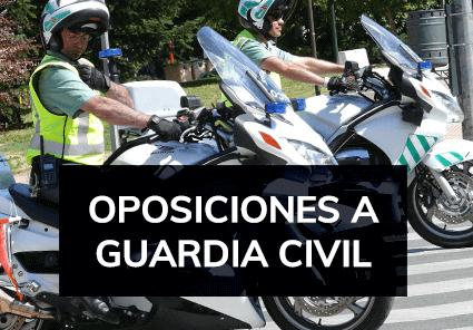 Cursos de Oposiciones a Guardia Civil - Academia Claustro