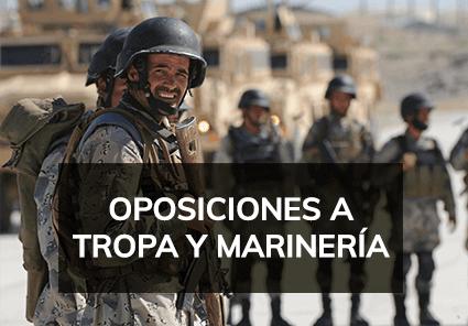 Cursos de Oposiciones a Tropa y Marinería - Academia Claustro