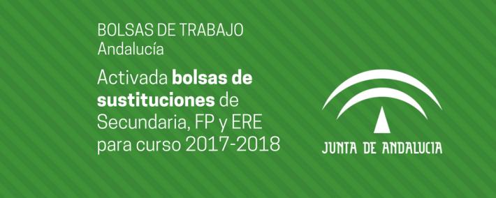 Activada bolsas de sustituciones de Secundaria, FP y ERE para el curso 2017-2018 - Academia Claustro