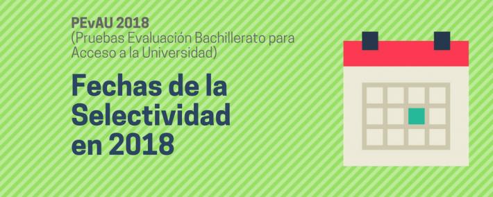 Fechas de las pruebas de Selectividad en 2018 - Academia CLAUSTRO