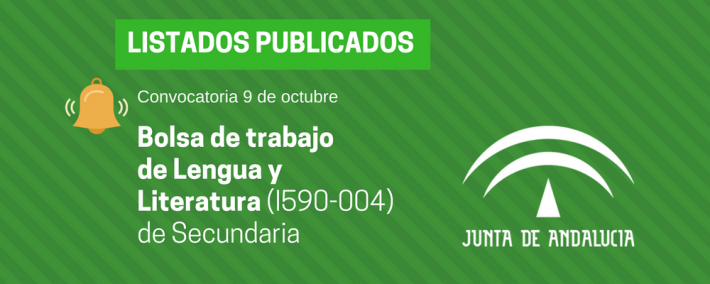 Andalucía: publicada lista provisional bolsa de trabajo de 9 de octubre - Bolsa Lengua y Literatura (I590-004) - Academia Claustro