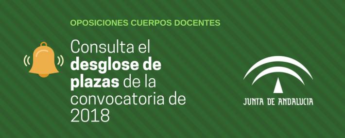 Andalucía convocará 6.000 plazas a cuerpos docentes en 2018 - Academia CLAUSTRO