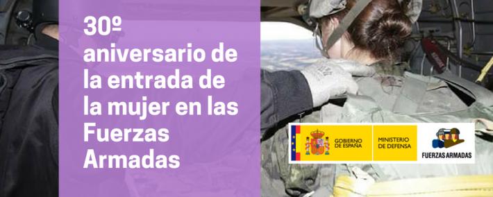 Se cumplen 30 años de la entrada de la mujer en las Fuerzas Armadas - Foto: Flikr Ejercito de Tierra