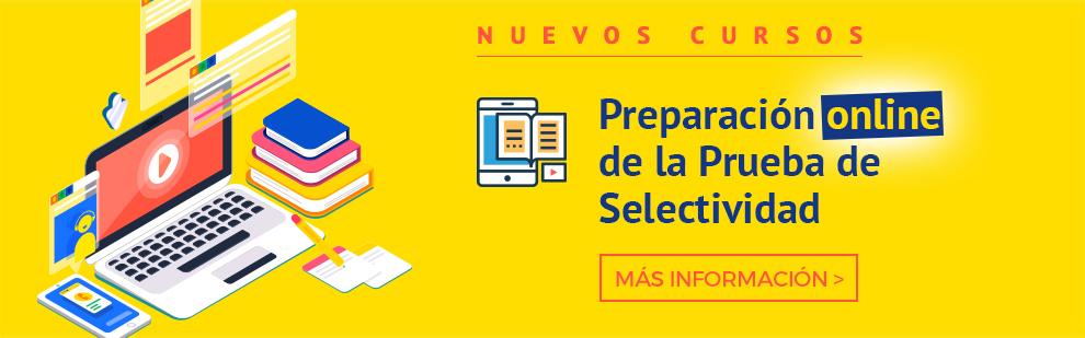 Cursos de preparación online de la prueba de Selectividad