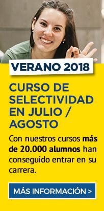 Con nuestros cursos más de 20.000 alumnos han conseguido entrar en su carrera - Selectividad verano - Academia CLAUSTRO