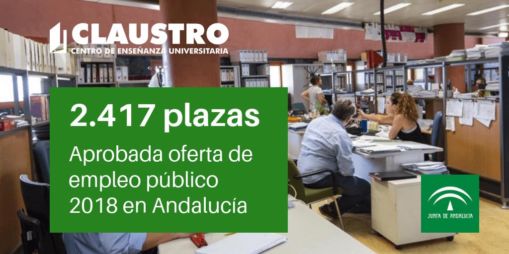 Más De 2 400 Plazas En La Oferta De Empleo Público De