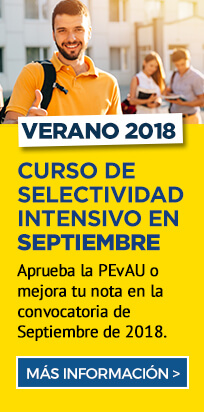 Curso de Selectividad intensivo en septiembre - Academia CLAUSTRO en Sevilla