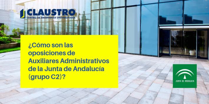 Auxiliares Administrativos de la Junta de Andalucia (grupo C2)