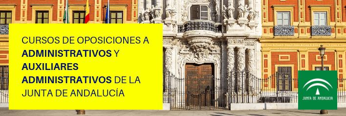 Cursos de oposiciones a Administrativos y Auxiliares Administrativos de la Junta de Andalucía - Academia CLAUSTRO