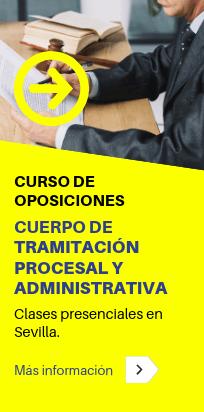 Curso de oposiciones para el Cuerpo de Tramitación Procesal y Administrativa - CLAUSTRO