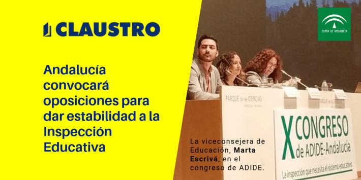 Andalucía convocará oposiciones para dar estabilidad a la Inspección Educativa - Academia CLAUSTRO