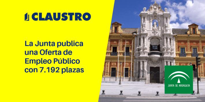 La Junta publica una Oferta de Empleo Público con 7.192 plazas - Academia CLAUSTRO