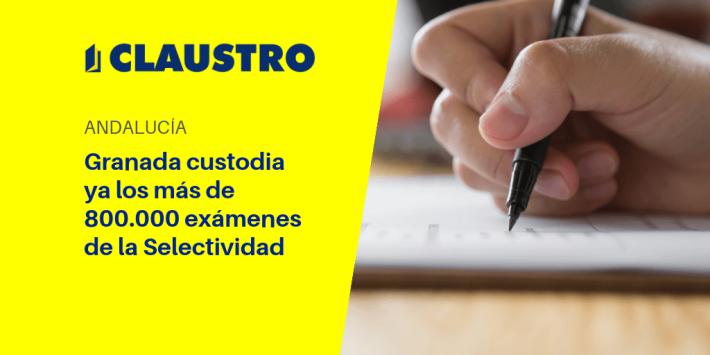 La Universidad de Granada custodia ya los más de 800.000 exámenes de la Selectividad - Academia CLAUSTRO