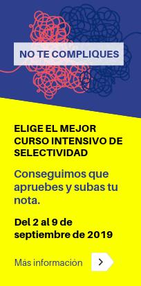 Curso intensivo PEvAU (Selectividad) de septiembre 2019 - Academia CLAUSTRO