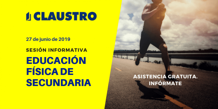 📌 Sesión informativa sobre la preparación de oposiciones de Secundaria, especialidad de Educación Física.