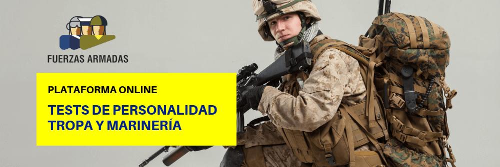 Tests personalidad Tropa y Marinería - Ejército - Academia CLAUSTRO
