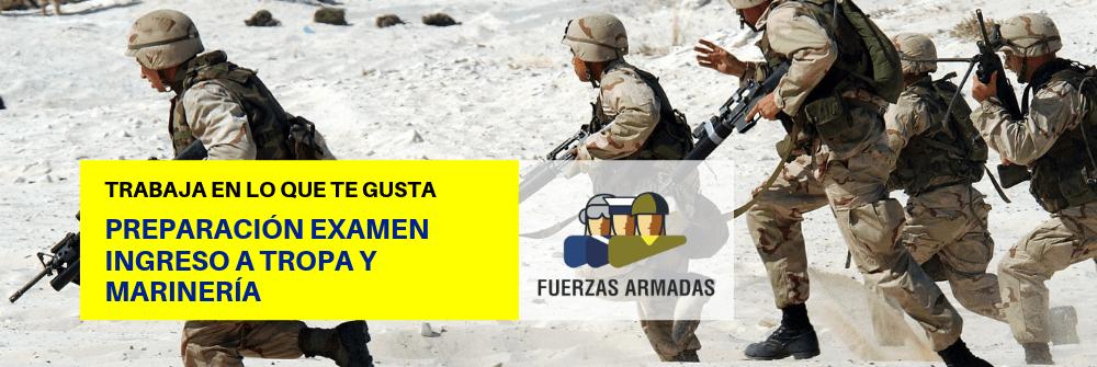 Tests examen Tropa y Marinería - Ejército - Academia CLAUSTRO